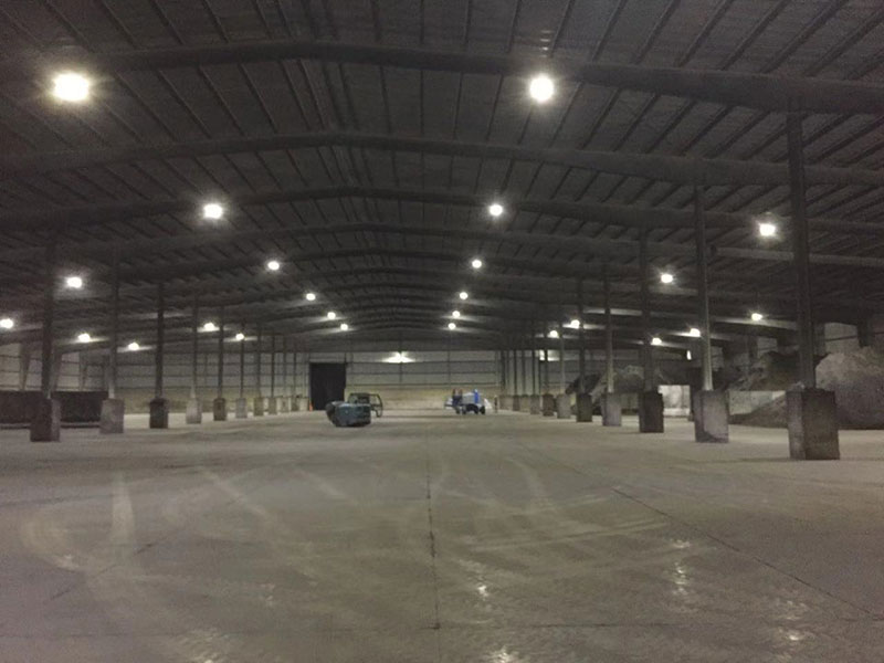 150W LED High Bay Light to install the luminaires in a copper mine site