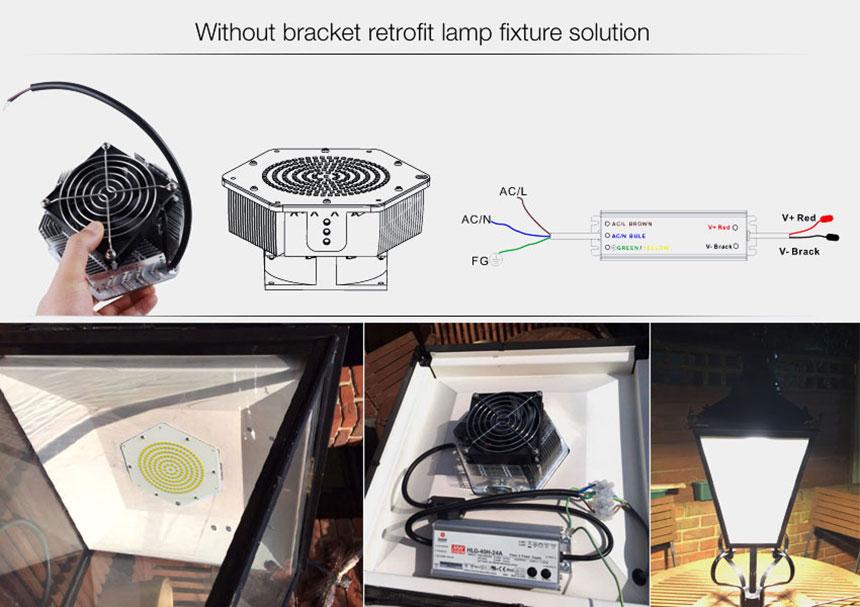 150w led parking lot retrofit kit Retrofitting