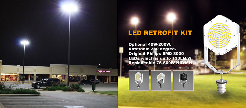 new led retrofit kit introduction and application