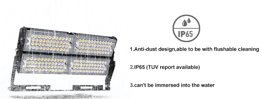 400W 64000lm Super Bright Outdoor LED Flood Lights, Daylight White 5000K, 800W HPS Equivalent, Waterproof ip65