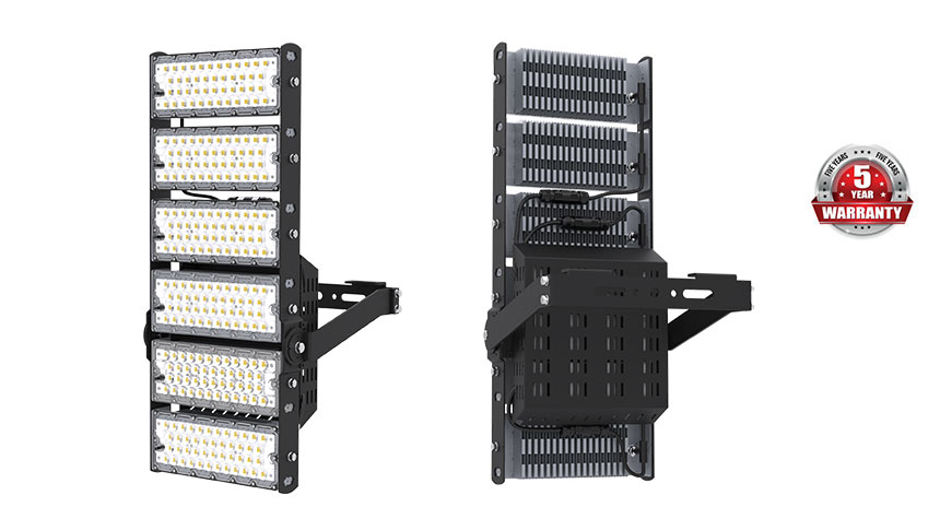sport Floodlight 600W LED sport And Baseball Sport Floodlights show