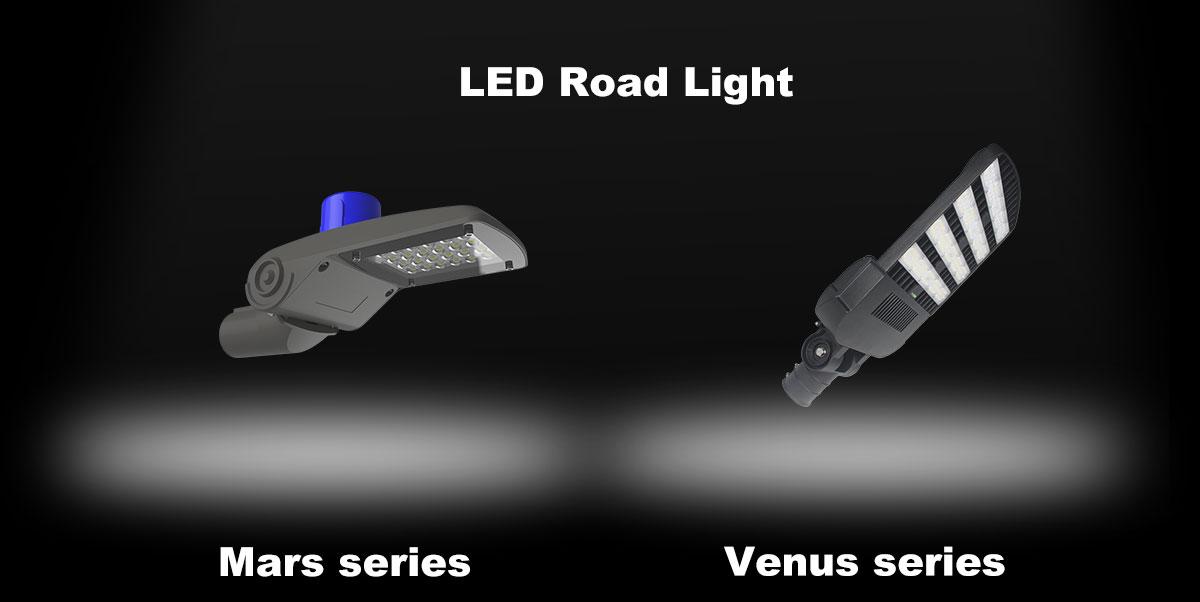 led road lights for road lighting