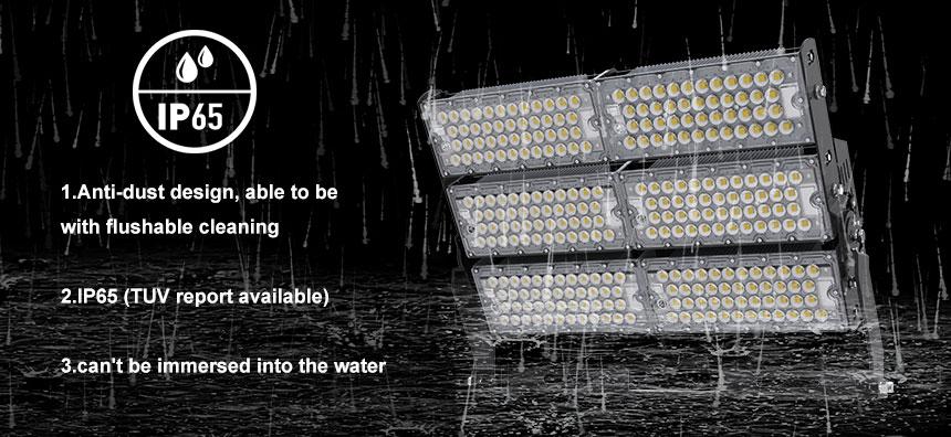 waterproof IP65 600w LED high mast light