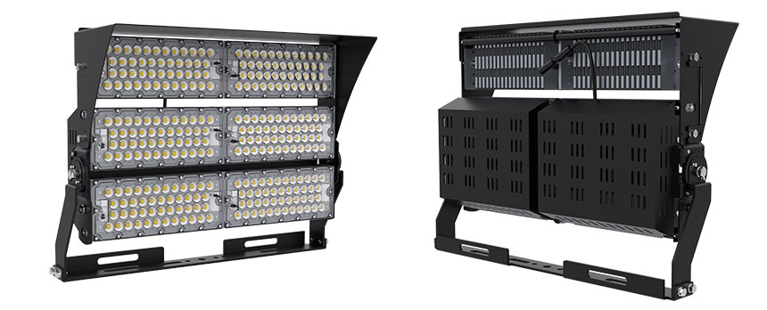 720w led high mast light with anti-glare accessories