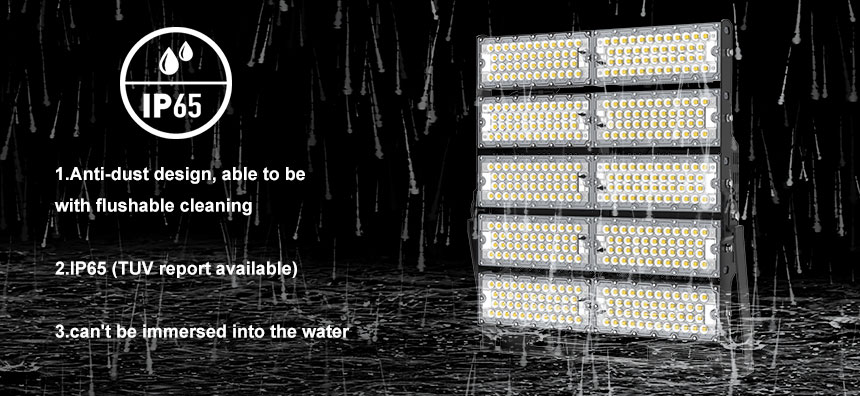 1000w led high mast light with waterproof ip65