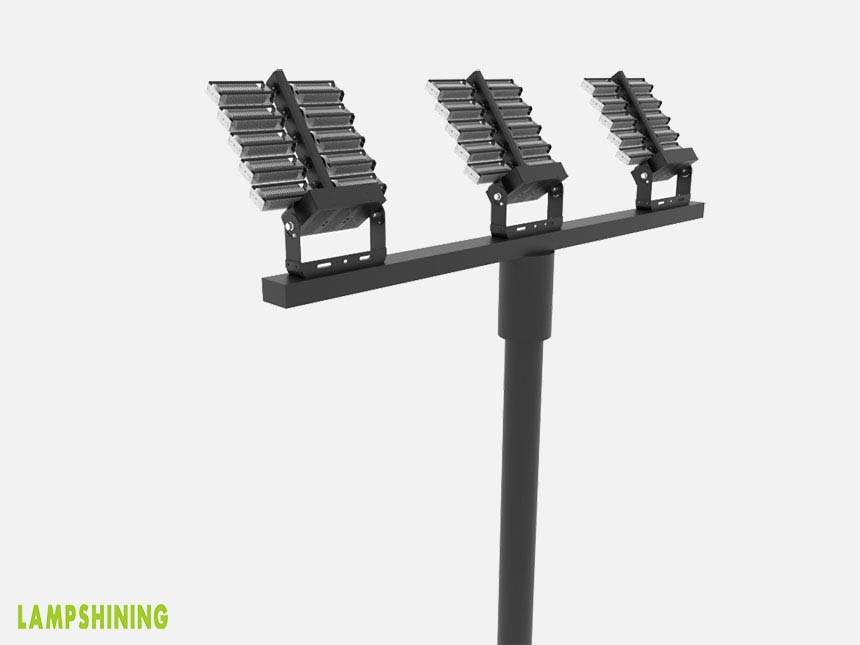 1000w rotatable module led high mast stadium flood luminaires