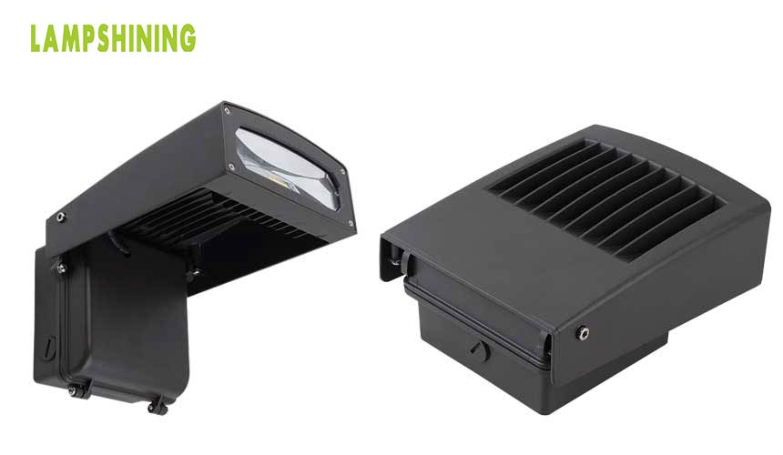 75W LED wall pack lights