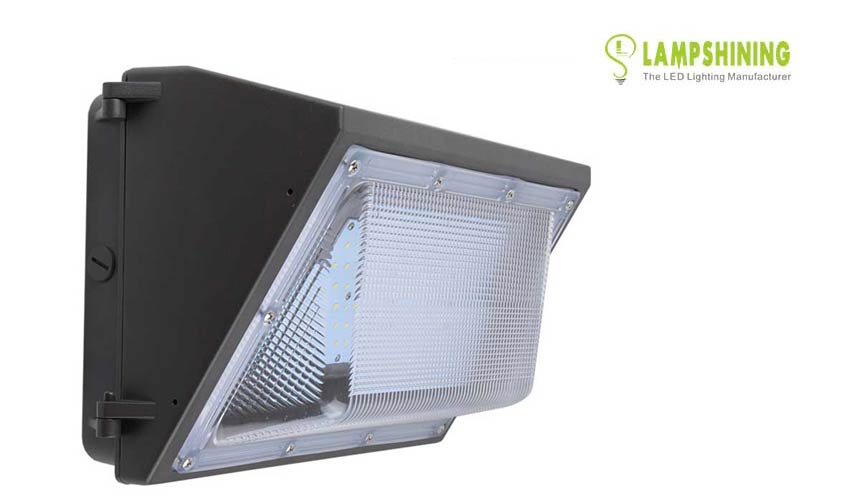 100w semi-cutoff led wall pack lights