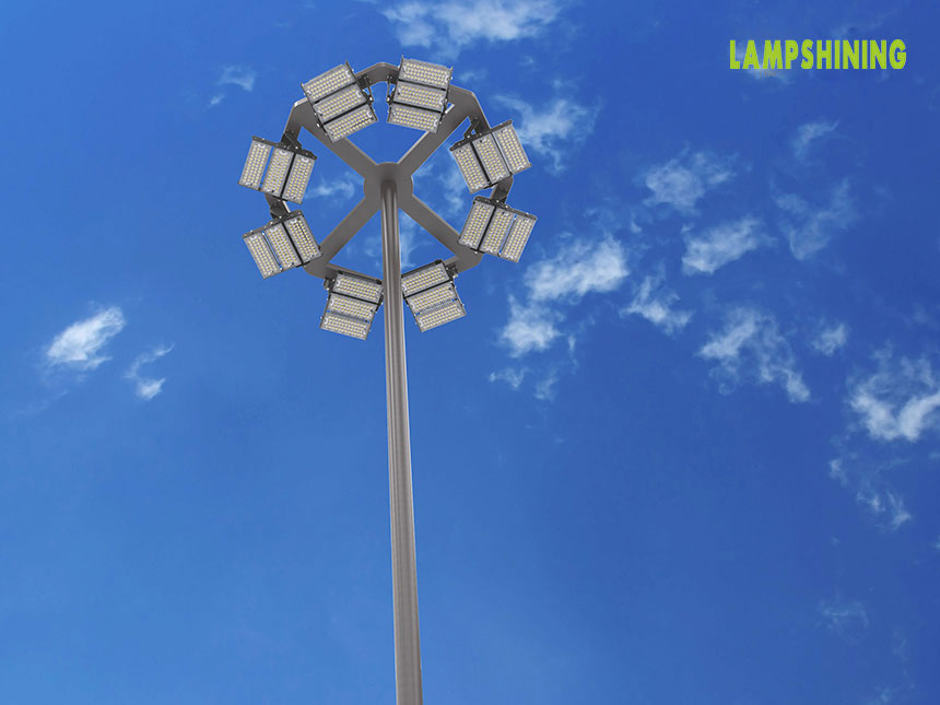module rotatable led high mast lights, stadium high mast luminaire
