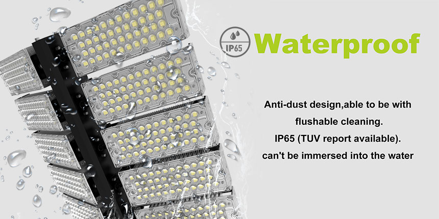 1000w DLC Sports Flood Lights-High Mast Stadium Light Illuminator waterproof ip65