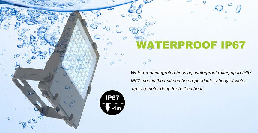 ip67 waterproof 100w led flood light