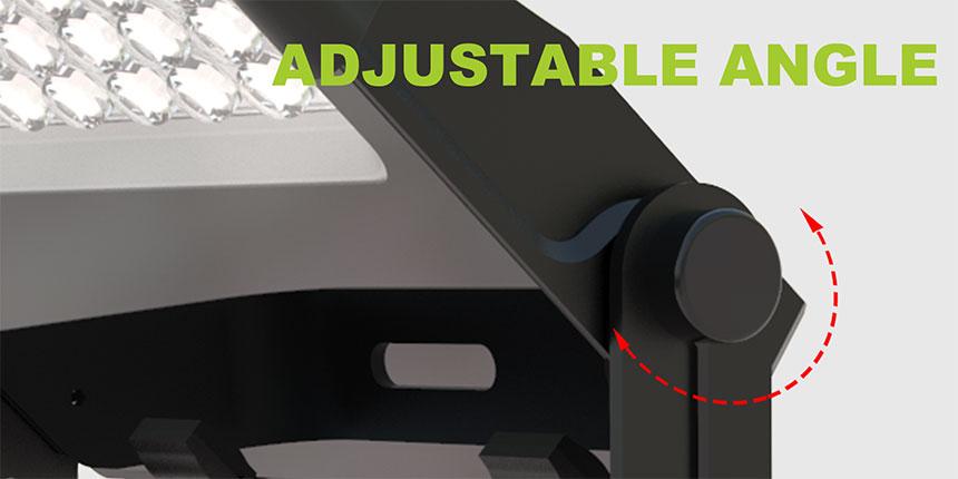 100w led flood light Bracket angle adjustable