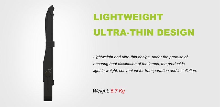 LED Flood Light 200W lightweight ultra-thin design