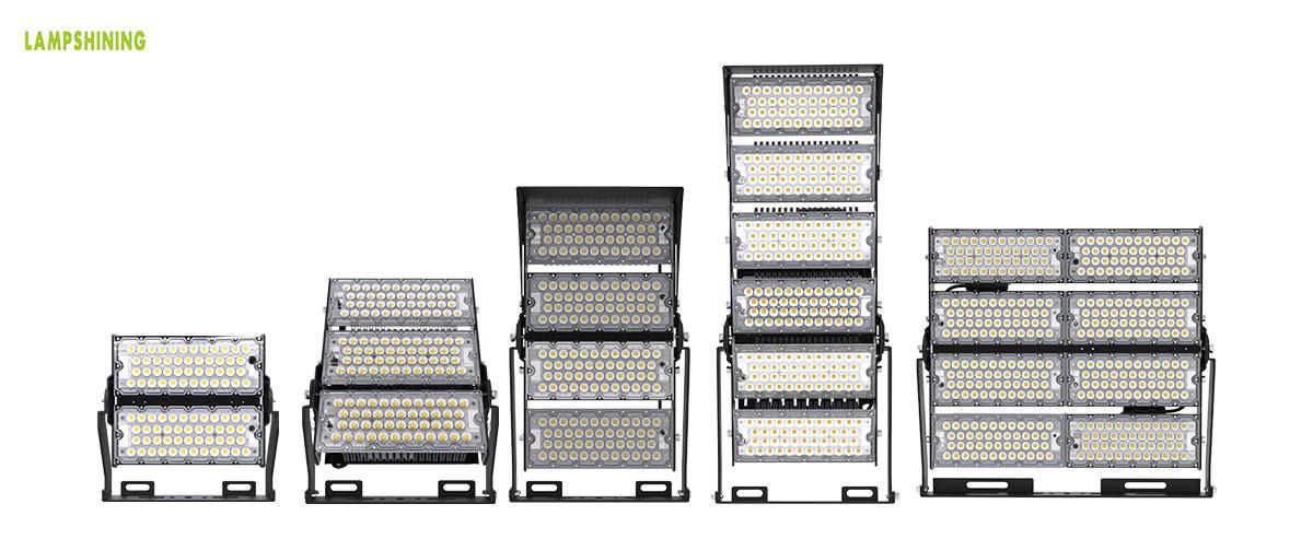led soccer field sport lighting fixtures 200-800 watt