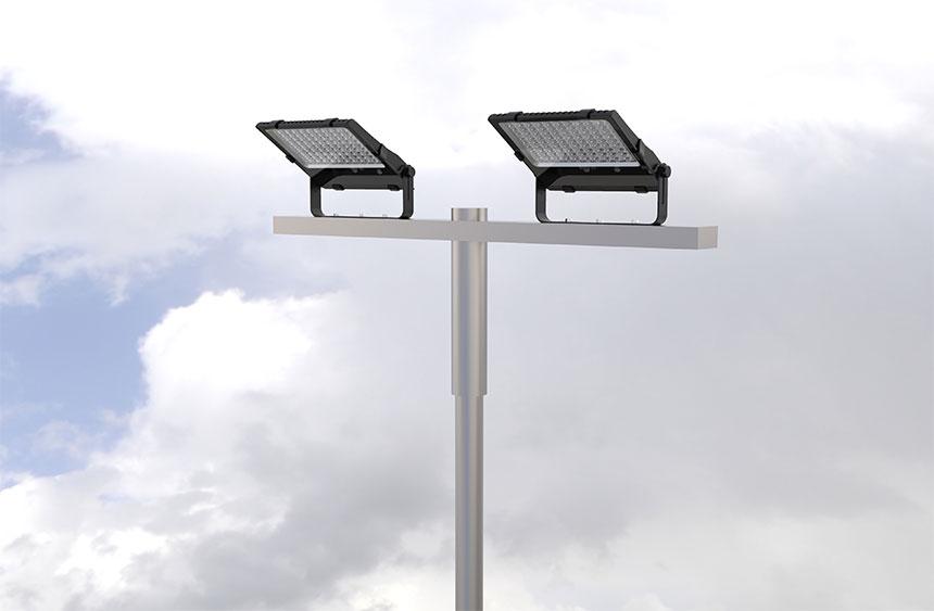150 Watt LED Flood Light CE RoHS application