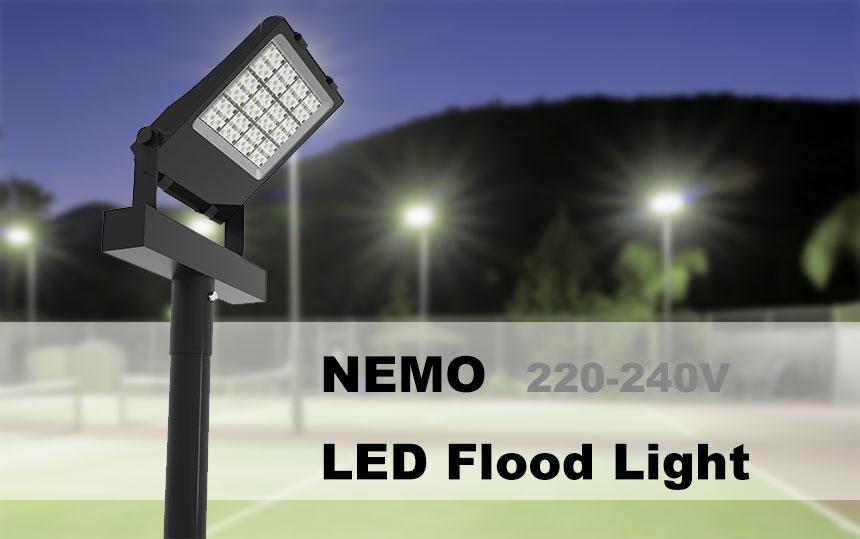 220-240v outdoor led flood light fixtures