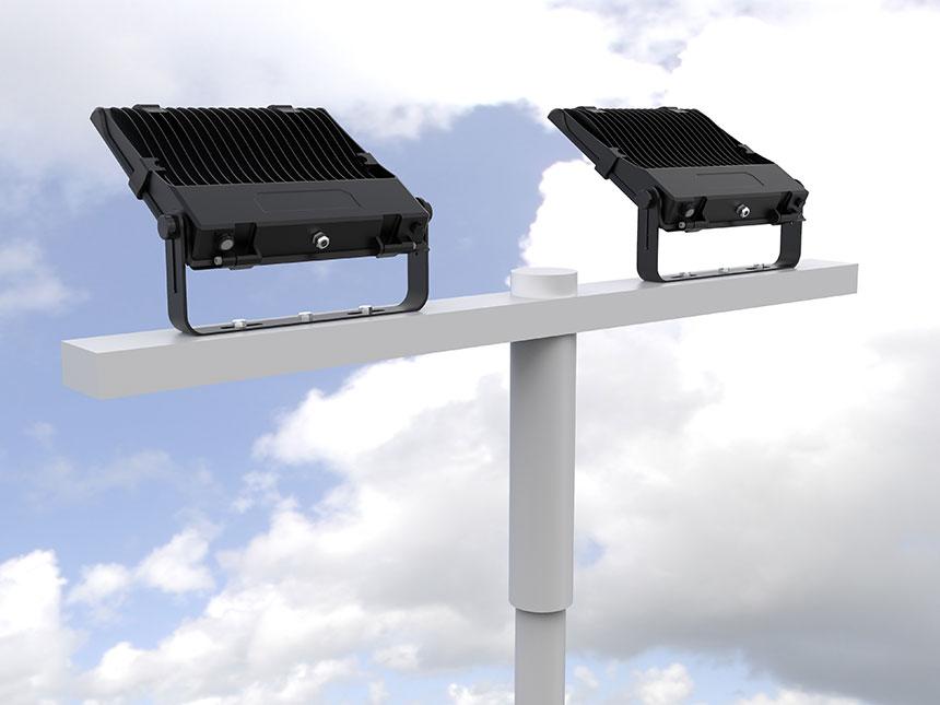 220-240v outdoor led flood light fixtures application