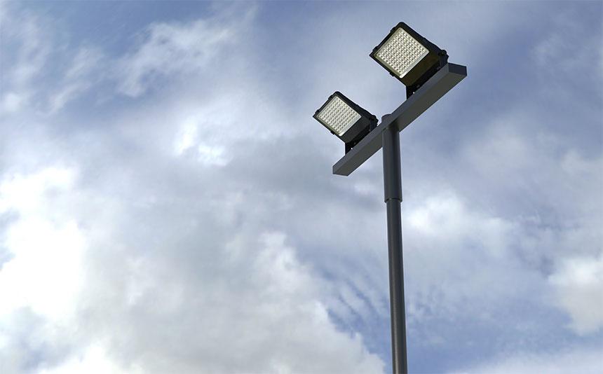 led flood lighting for area lighting
