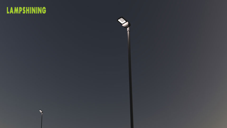 LED Street area Lights fixtures application scenarios