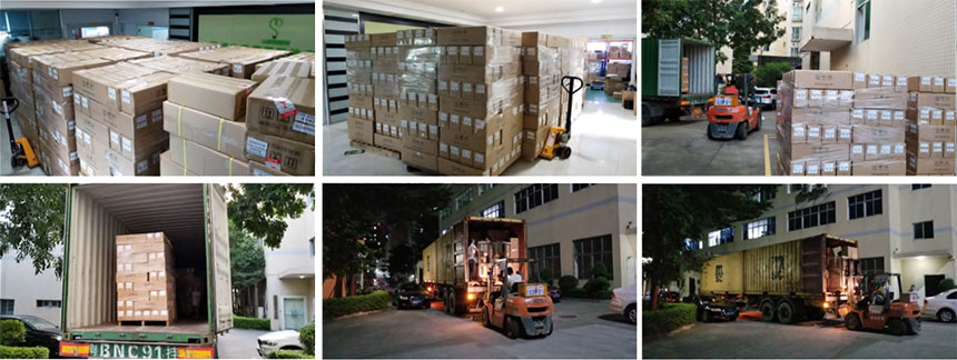 Pack and transport LED lights