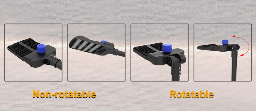 200w venus non-rotatable and rotatable led street/parking lot/Industrial light