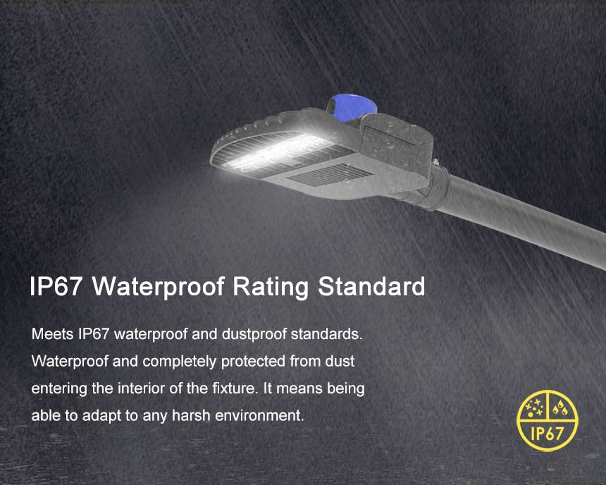 60w venus led street light with ip67 waterproof