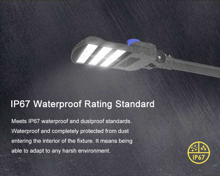 150lm/w 120w venus led street light waterproof ip67