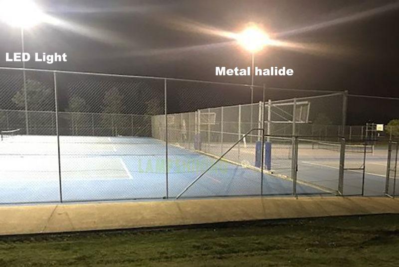 1000w led high mast light for tennis court