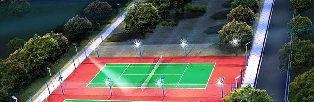 Badminton court led lighting