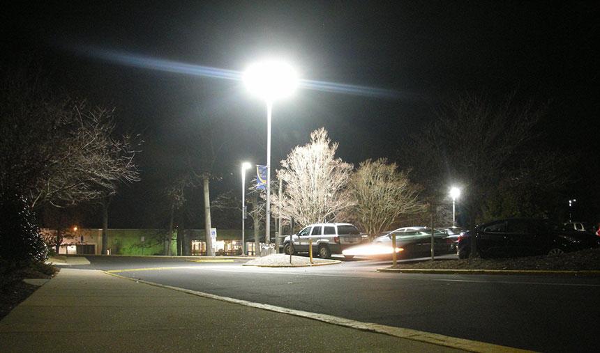 led shoebox light fixtures application