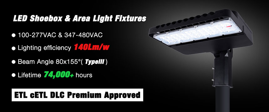 led shoebox light fixtures advantage