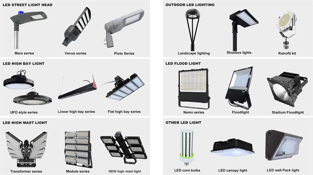 outdoor and indoor led lighting fixtures