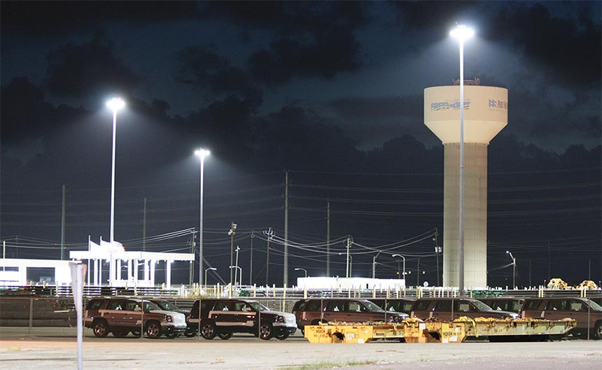 Harbour,seaport,wharf LED flood Lighting
