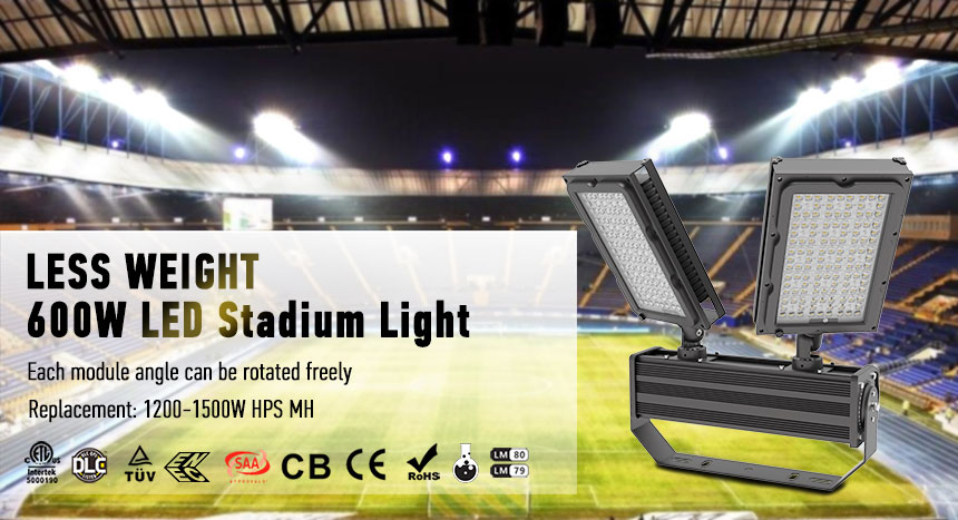600w led stadium lights fixture