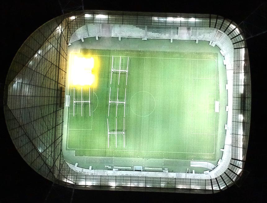 600w led stadium lights fixture application
