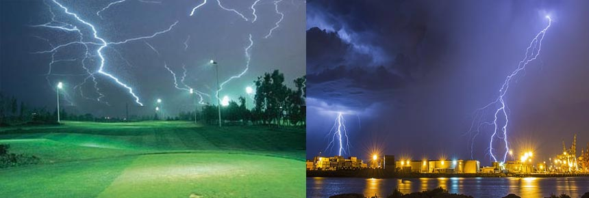 300w led golf course flood light lightning proof design