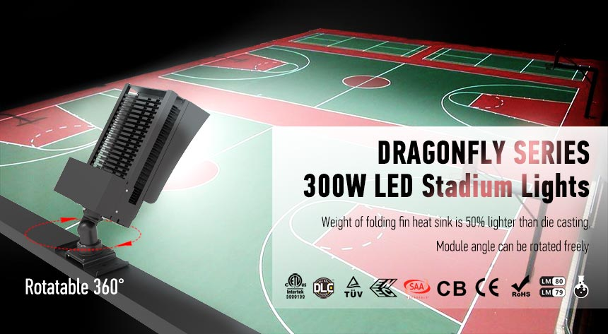300w sport field led area flood light