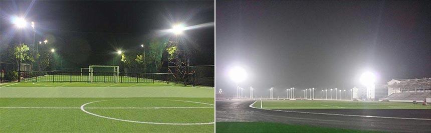 300w sport field led area flood light application