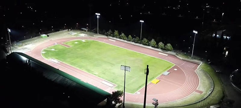 case of 240w led high mast light for Athletic field
