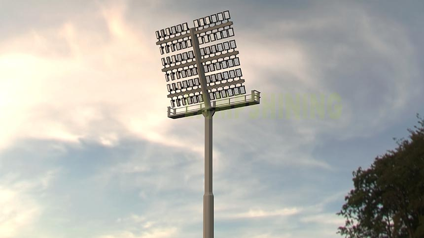 300w sport field led area flood light application