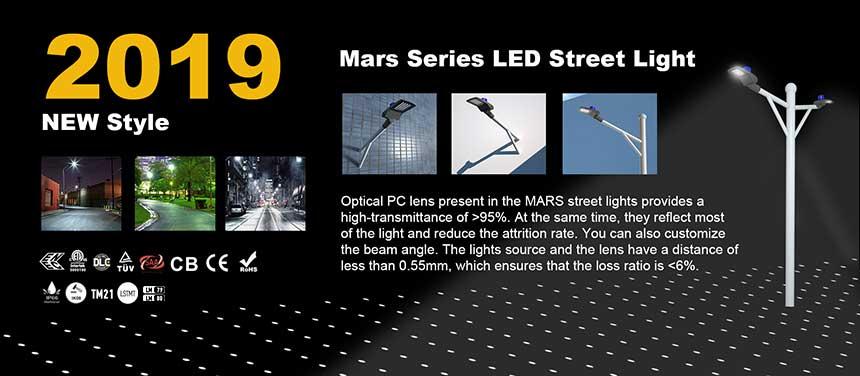 60w mars led street & area lights