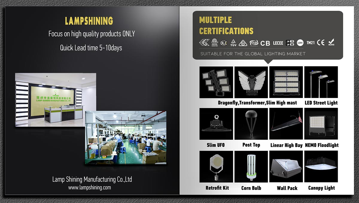LED lighting expert and manufacturer