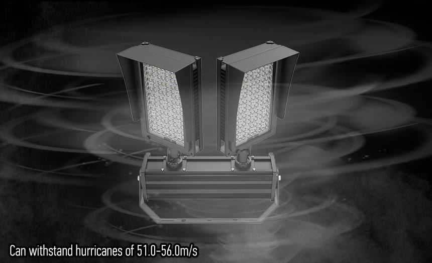 600w led stadium lights Can withstand hurricanes