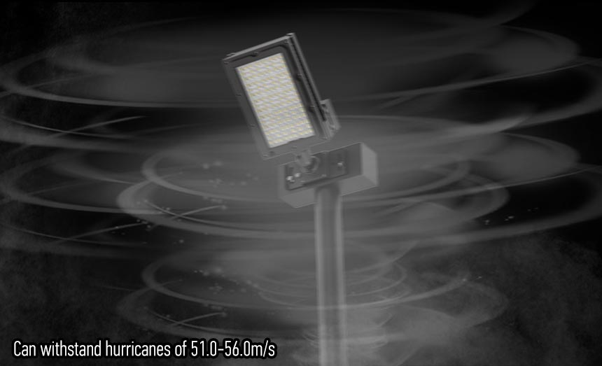 300w led sport field lights can withstand hurricanes