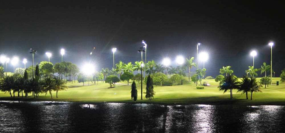 glof course led flood lighting