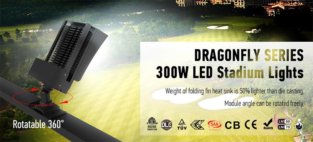 stadium led flood light fixtures