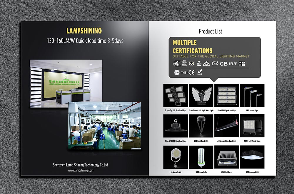 led lighting solutions company lampshining