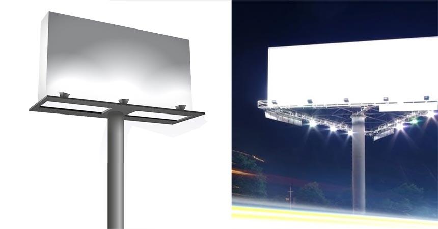 billboard led lighting fixtures application