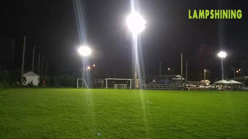 case of 400w led high mast light for soccer field