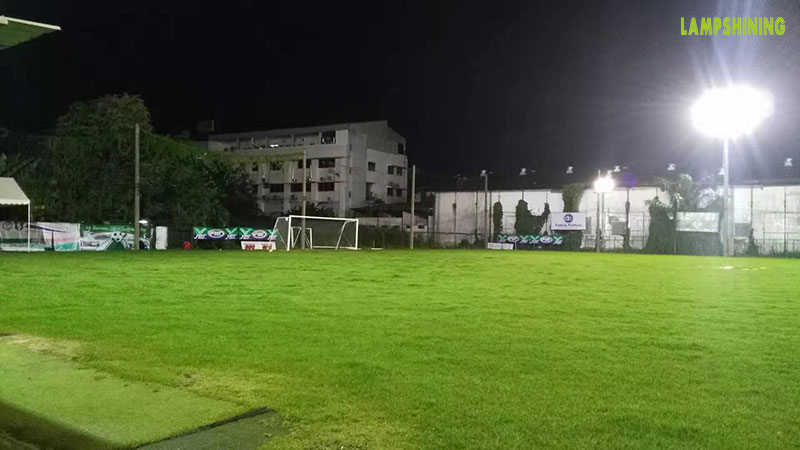 soccer field 400 led high mast lighting
